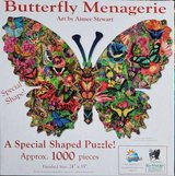 Jigsaw puzzle- Butterfly Menagerie in Aurora, Illinois