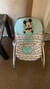 Mickey Mouse rocker in 29 Palms, California