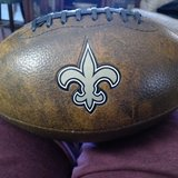 Leather NFL Football in Fort Campbell, Kentucky