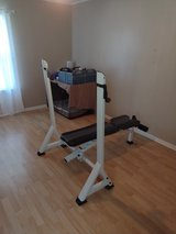 Fitness Gear Adjustable Weight Bench in Camp Lejeune, North Carolina