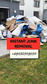 CLEVER AND INSTANT PCS TRASH REMOVAL JUNK HAULING GARBAGE DISPOSAL DEBRIS DISCARD in Spangdahlem, Germany