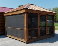 Demo 12'x12' Pyramid Top Gazebo in Fort Campbell, Kentucky