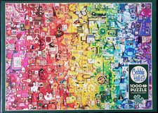 Jigsaw puzzle- Colourful Rainbow in Naperville, Illinois