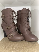 Cute Brown Boots in Ramstein, Germany