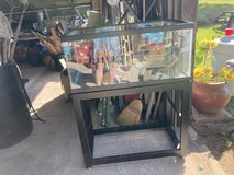 Fish tank with stand in Cleveland, Ohio
