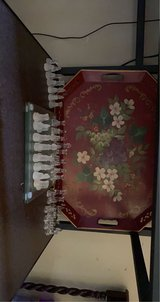 Metal serving tray in Fort Campbell, Kentucky