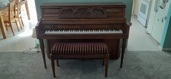 Free Kimball Piano with Storage Bench in Joliet, Illinois