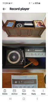 Record player and tuner in Joliet, Illinois