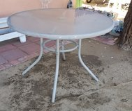 Outdoor Glass Table in 29 Palms, California