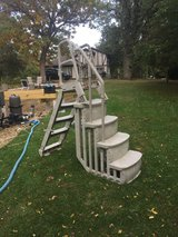 in and out ladder for above ground pool in Naperville, Illinois