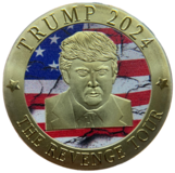 Hurry and get your Free Trump Revenge Coin Today Why Supplies last in Brookfield, Wisconsin