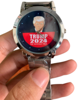 Trump 2024 Watch Give Away! Hurry while supplies last in Brookfield, Wisconsin