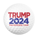 """Hurry and get your Free Trump 2024 """"The Revenge Tour"""" Commemorative Golf Balls while supplies last! in Brookfield, Wisconsin"""