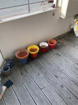 FREE 4 Clay pots in Ramstein, Germany