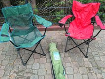 Camping chairs in Ramstein, Germany