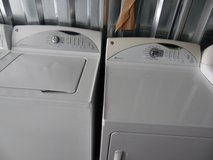 GE Adora washer & dryer (free delivery) credit card accepted in Camp Lejeune, North Carolina