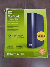 Computer Backup Drive by My Book WD 2 TB USB 2,0 & 3.0 in Stuttgart, GE
