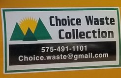 Choice Waste Collection Inc. -  CDL Driver in Alamogordo, New Mexico