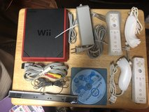Red WII Opens from the Top One Game MarioKart in Elizabethtown, Kentucky