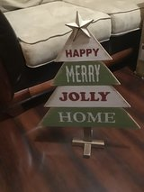 WOODEN CHRISTMAS OUTDOOR DECORATION in Kingwood, Texas