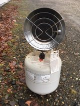 Propane Heater and Tank in Ramstein, Germany