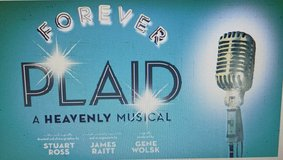 Forever Plaid A Heavenly Musical 2 Tickets Great Seats Drury Lane Theatre Oakbrook in Naperville, Illinois