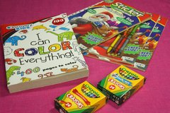 Children's Coloring Books and Crayons in Kingwood, Texas