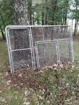 Chain link panels in Fort Campbell, Kentucky