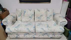 Pastoral Print Couch and Loveseat in Joliet, Illinois