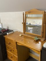 vanity or student desk with mirror in Fort Hood, Texas