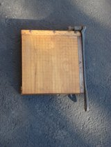 TWELVE INCH WIDE WOOD PAPER CUTTER in Naperville, Illinois