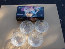 NEW SET OF FOUR CRYSTAL BOWLS in Naperville, Illinois