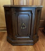 Wood Octagon Table With Door in Naperville, Illinois