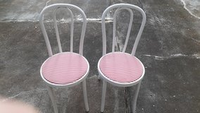 Two bentwood chairs in Kingwood, Texas