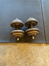 Dumbbells (2ea) 40 lbs Each in Fort Campbell, Kentucky