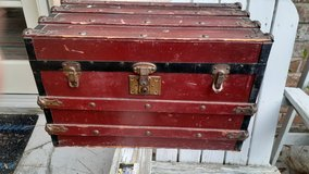 Childs trunk in Kingwood, Texas