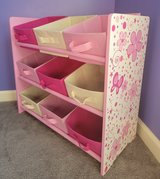 Girl's Wood Toys Box Organizer in Fort Campbell, Kentucky