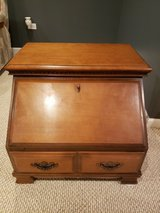 End Table with Drop Storage in Naperville, Illinois