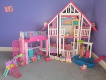 Barbie Vintage House Penthouse Pool School in Fort Campbell, Kentucky