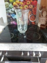 Glass candle holder in Ramstein, Germany