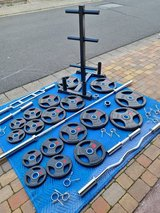 RhinoSports Olympic Weight, Bar & Stand Set in Ramstein, Germany