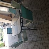 Patio Table with 6 chairs FREE in Ramstein, Germany