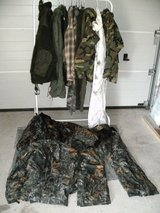 Batch of hunting clothing in Ramstein, Germany