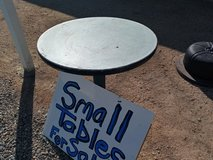 Small restaurant tables in 29 Palms, California