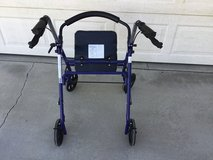Adult walker with seat in 29 Palms, California