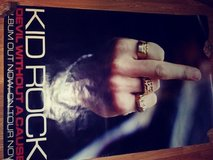 """Kid Rock """"Rebel without a cause"""" Finger Lg Poster in Alamogordo, New Mexico"""