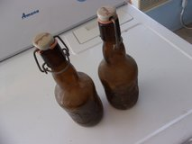 Very Old Corked Beer Bottles in Alamogordo, New Mexico