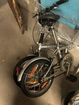folding bicycle in Ramstein, Germany