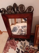 Mirror with decorative accent in Beaufort, South Carolina