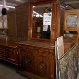 """Antique """"Henri II"""" Dresser With Mirror    Article number: 057794 in Ramstein, Germany"""